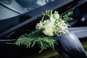 Décorations florales par Au Mariage des Merveilles